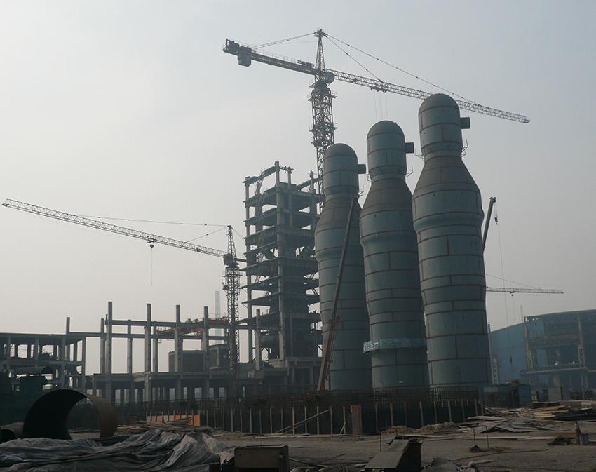 唐山经安钢铁有限公司1280高炉工程