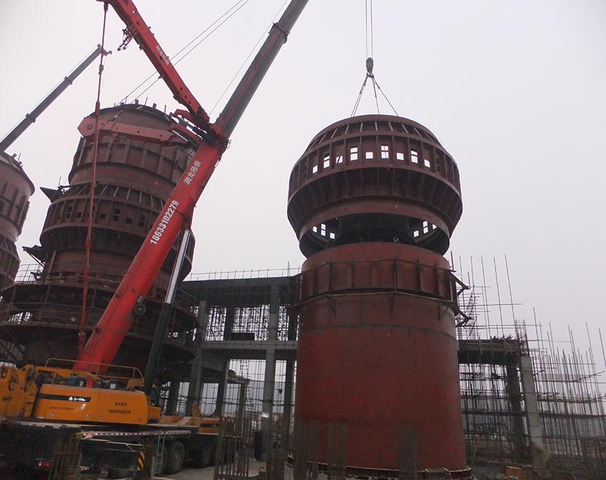 唐山经安钢铁有限公司新型环保脱硫320石灰窑工程