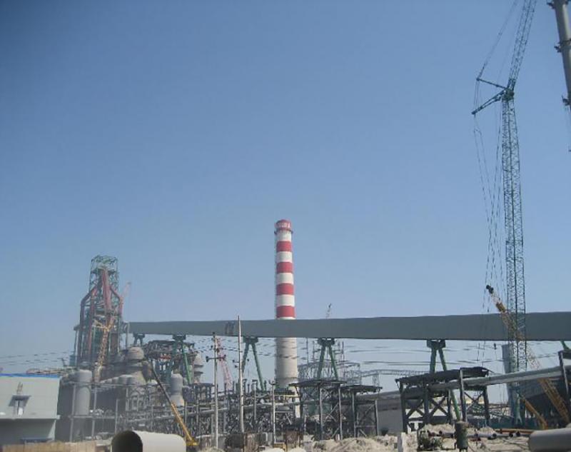 河北钢铁集团九江线材2×1080m³高炉工程