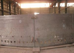 高炉炉壳加工
