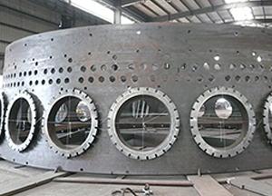 高炉炉壳定型