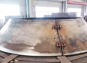 高炉炉壳炉顶制作